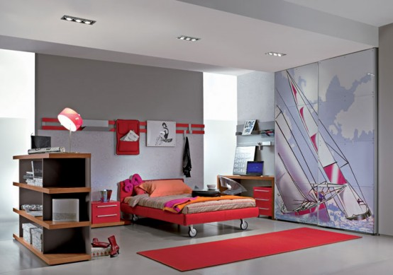 kamar yang menarik untuk anak anda